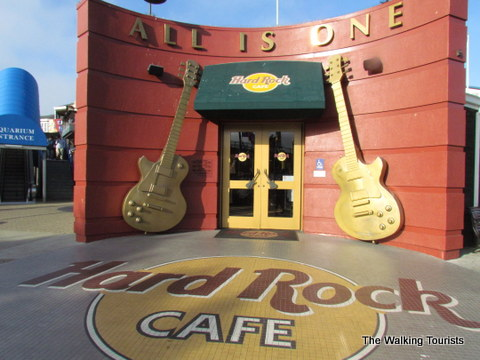 Hard Rock Cafe at Pier 39 in San Francisco