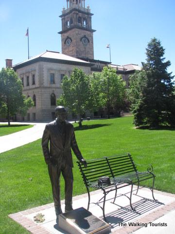 Sculpture of William Seymour in Colorado Springs