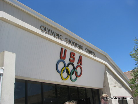 Olympic Shooters at Olympic Training Center in Colorado Springs