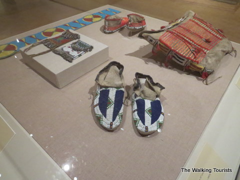 Native American pieces at Joslyn Art museum
