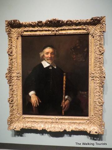 An original Rembrandt at Joslyn Art Museum