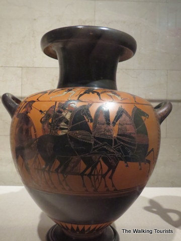 Greek pottery at Joslyn Art Museum