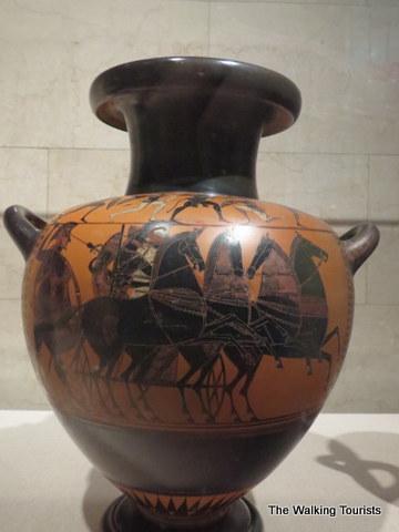 Greek pottery at Joslyn Art Museum