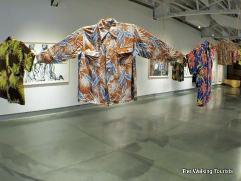 Long sleeved Hawaiian shirts at Kaneko