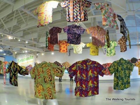 Hawaiian shirts at Kaneko
