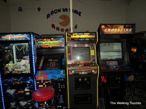 Arcade games at Bene