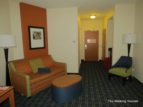 Spacious room at Fairfield Inn and Suites in Grand Island