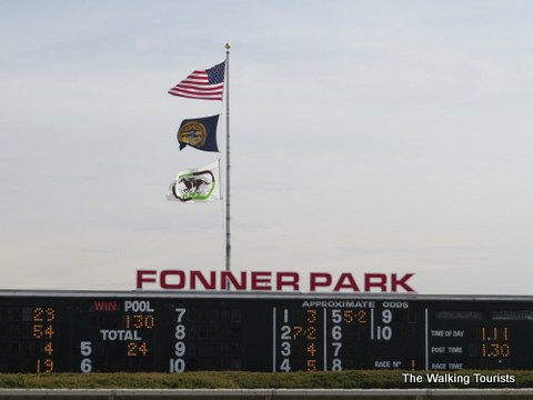 Our first time betting on the ponies at Fonner Park in Grand Island
