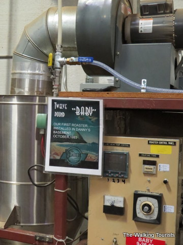 """""""Baby"""" Roaster at The Roasterie"""