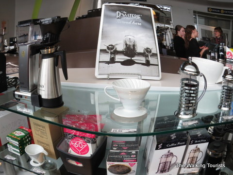 The Roasterie cafe at the main location