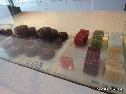 Spices are used in the making of these chocolates