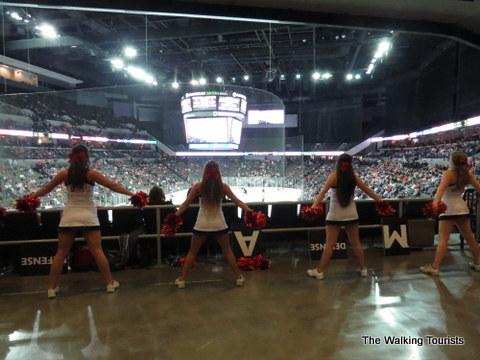 UNO Mavericks Cheerleaders