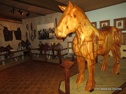 History of the horse is described in displays