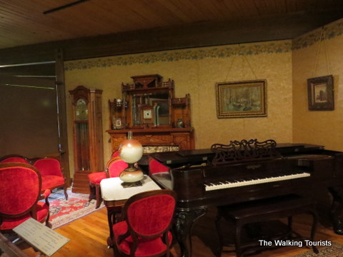 Furniture and artifacts that belonged to the Fonner estate