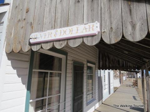 Railroad Town represents an 1890's town