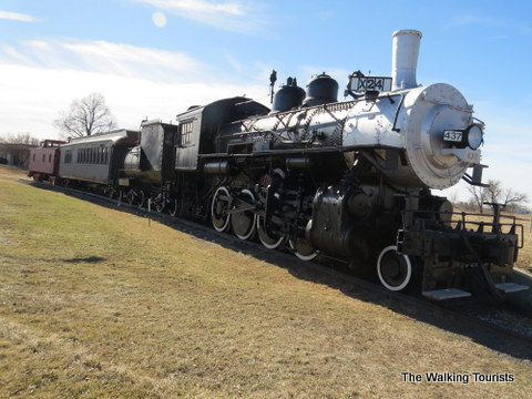 Steam Engine at Stuhr museum in Grand Island