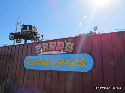 Fred's Flying Circus in Grand Island