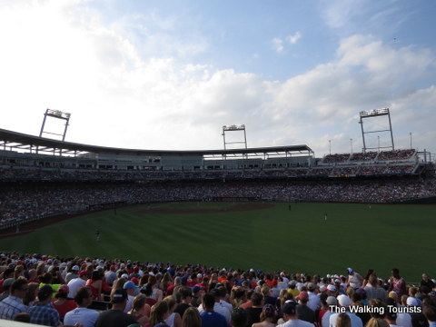 College World Series in Omaha, NE