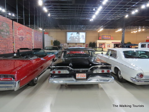 Great exhibit at Classic Car Collection in Kearney, NE