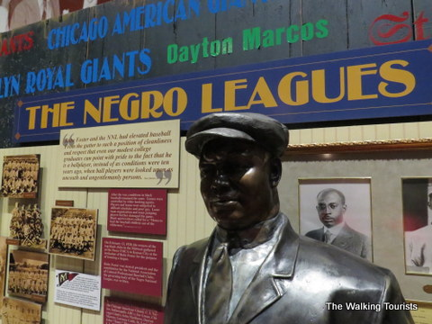 Negro League Baseball Museum in the 18th and Vine District in Kansas City