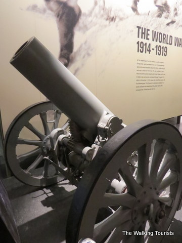 Great exhibits at World War I Museum
