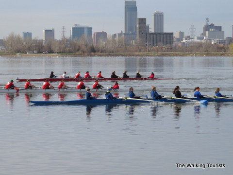 Rowing clubs in Downtown Omaha