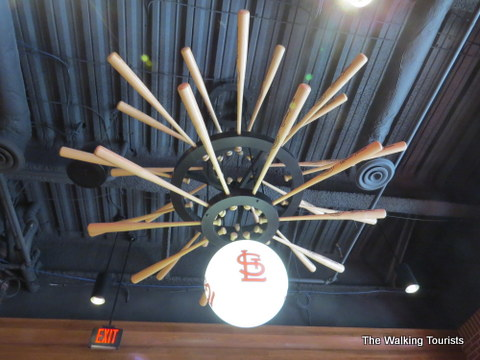 Light collections baseball ceiling fan baseball ceiling fan light shop light ideas cardinals nation museum a must see in st louis aloadofball Image collections