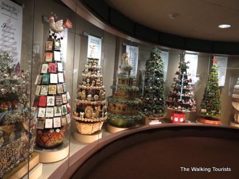 Christmas Trees at Hallmark Visitors Center in Kansas City