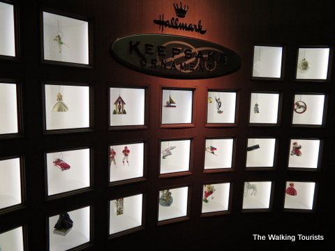 Hallmark Ornaments on display at Hallmark Visitors Center in Kansas City