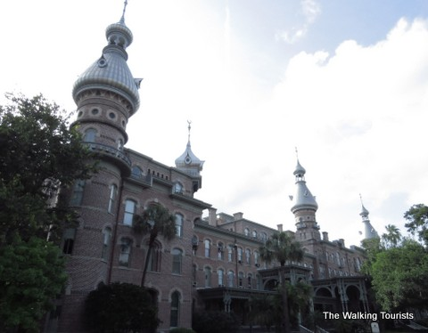 Plant Hall on the University of Tampa campus in Tampa downtown