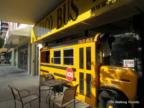 Taco Bus in Tampa downtown