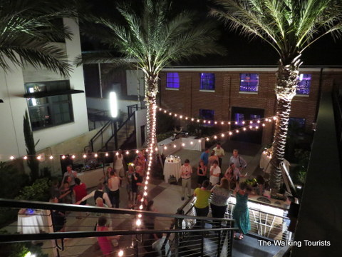 Outside patio area at the Ulele Restaurant