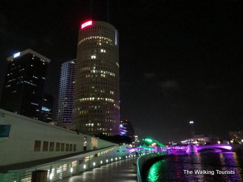 Tampa Riverwalk downtown
