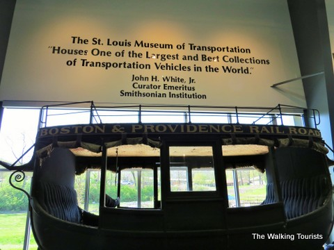 Trains and more can be had at St. Louis Museum of Transportation