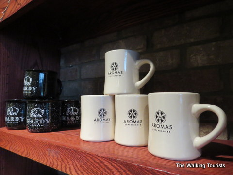Hardy Coffee - formerly Aroma - has locations in the Old Market, Benson and North Omaha.