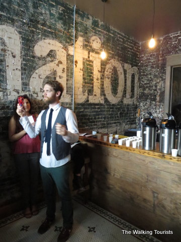 Isiah, owner at Archetype coffee on Omaha Caffeine Crawl