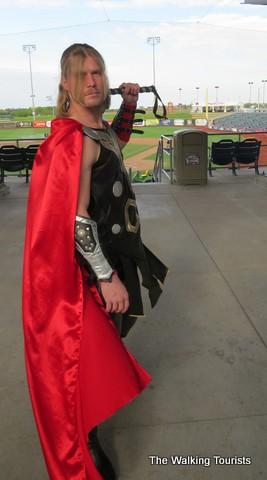 'Superheroes' at Omaha baseball; next flight to O Comic Con May 29-31