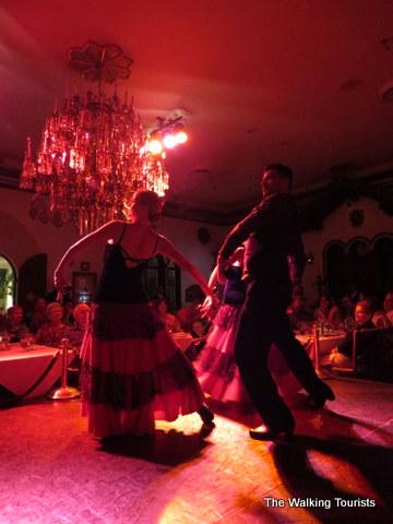 Flamenco dancers at Columbia Restaurant in Ybor City area of Tampa, Florida