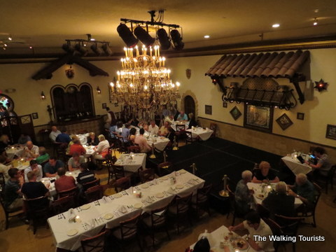 One of many dining areas in Columbia Restaurant in Ybor City