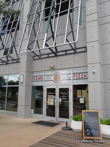 Tampa Pizza Company in Tampa downtown