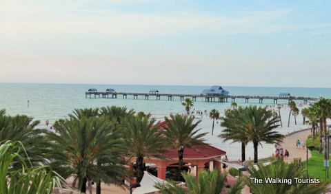 Clearwater Beach offers visitors beautiful views of sunsets and more