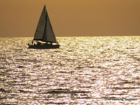 Sailboat at Clearwater Beach