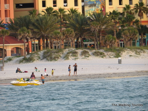 Many different activities at Clearwater Beach