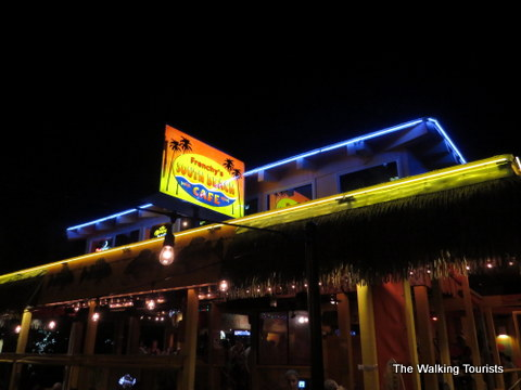 Frenchy's is a local favorite in Clearwater Beach area