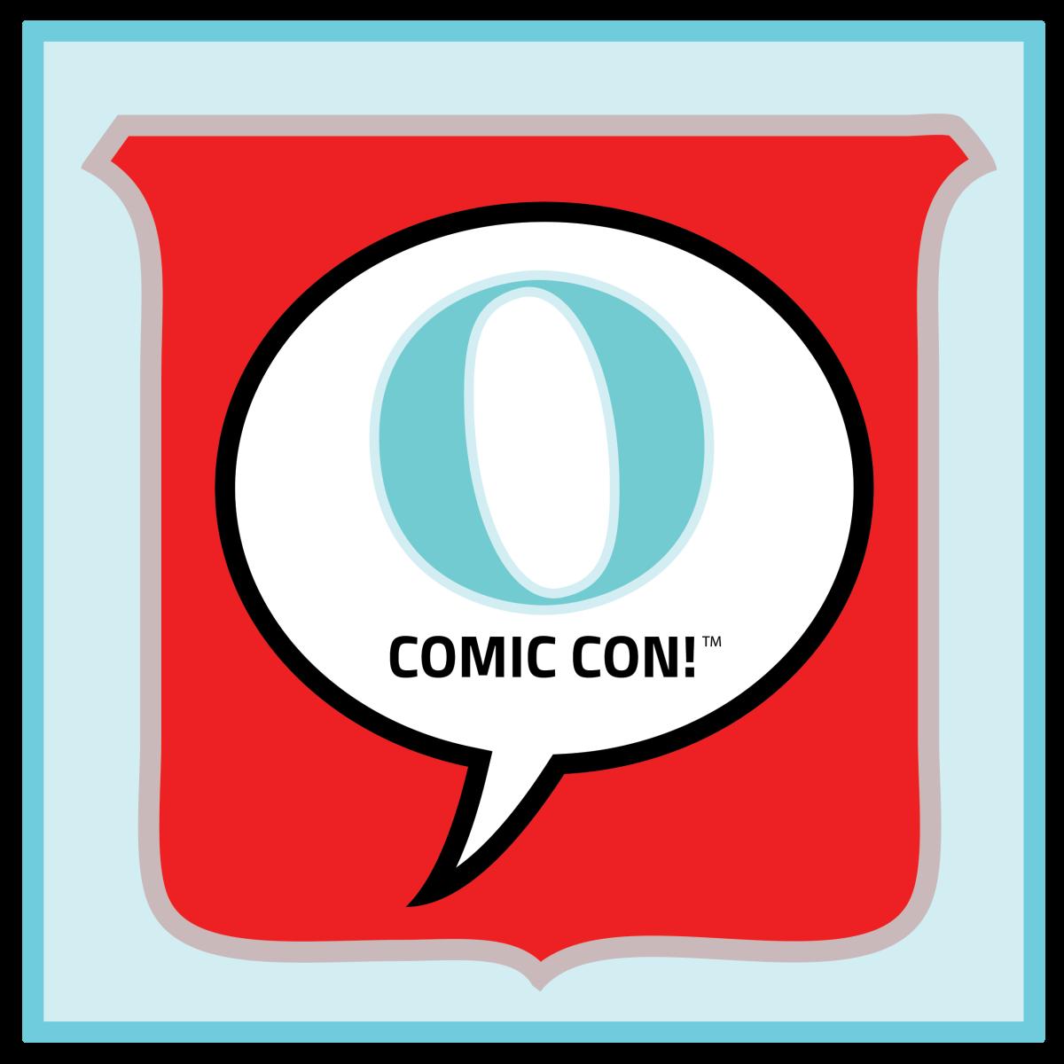 May The 4th Be With You Logo: OmahaComicConLogo (2)