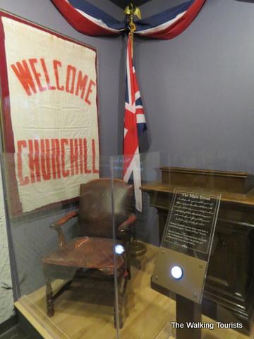 Fulton, Missouri, museum memorializes Winston Churchill