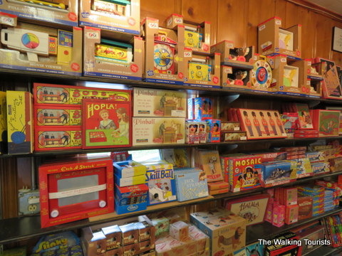 Retro toys and games can also be found at Moon Marble in Bonner Springs, Kansas