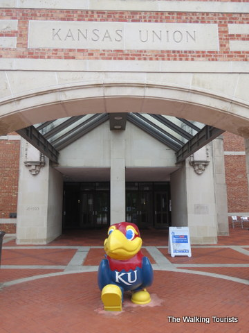 Kansas University tour gives us a taste of Lawrence