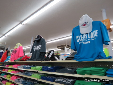 Grab some souvenirs at Larsen Mercantile in Clear Lake, IA
