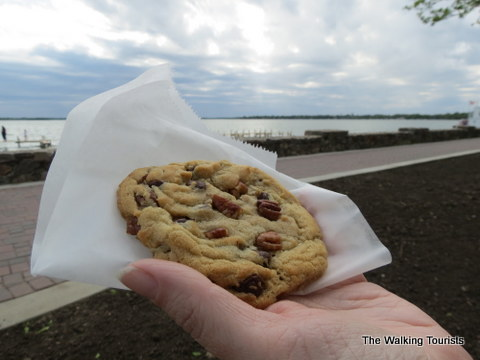 Soft cookies from Cookies, etc in downtown Clear Lake, IA